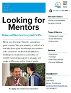 Youth Policy Institute Mentor flyer