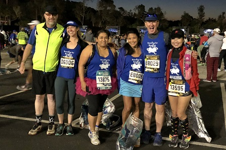 Team Reading to Kids 2018 Skechers Performance LA Marathon runners