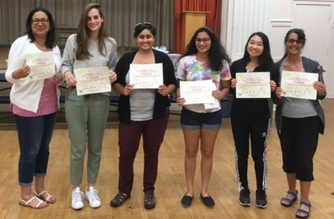 Milestone certificates awarded at Alta Loma