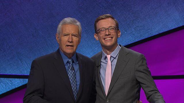 Volunteer Alex Schmidt on Jeopardy