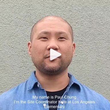 Site Coordinator Paul Chung explains what Reading to Kids means to him