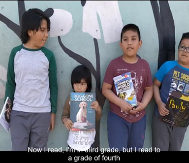 Short Compilation video of Reading to Kids' impact