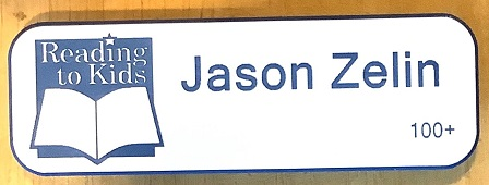 Jason Zelin 100th Name Badge