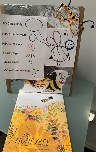 Kindergarten craft for The Honeybee
