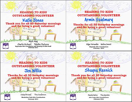 4 February 2021 Milestone Certificates