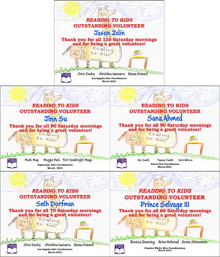 5 March 2021 Milestone Certificates