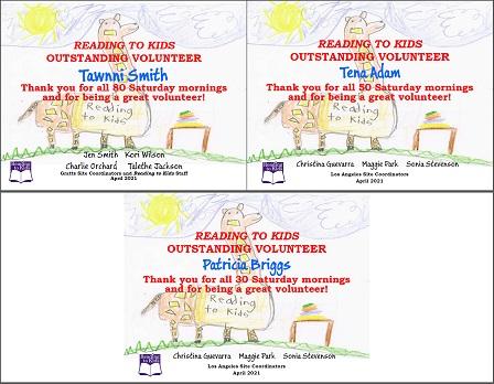 3 April 2021 Milestone Certificates