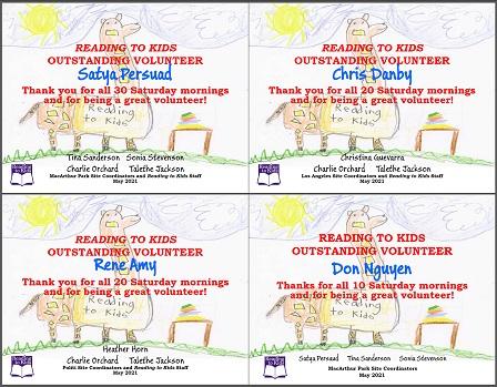 4 May 2021 Milestone Certificates