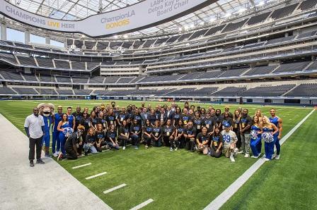 All 56 Super Bowl LVI Legacy Program award winners at SoFi Stadium