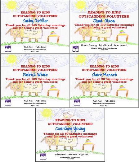 5 June 2021 Milestone Certificates