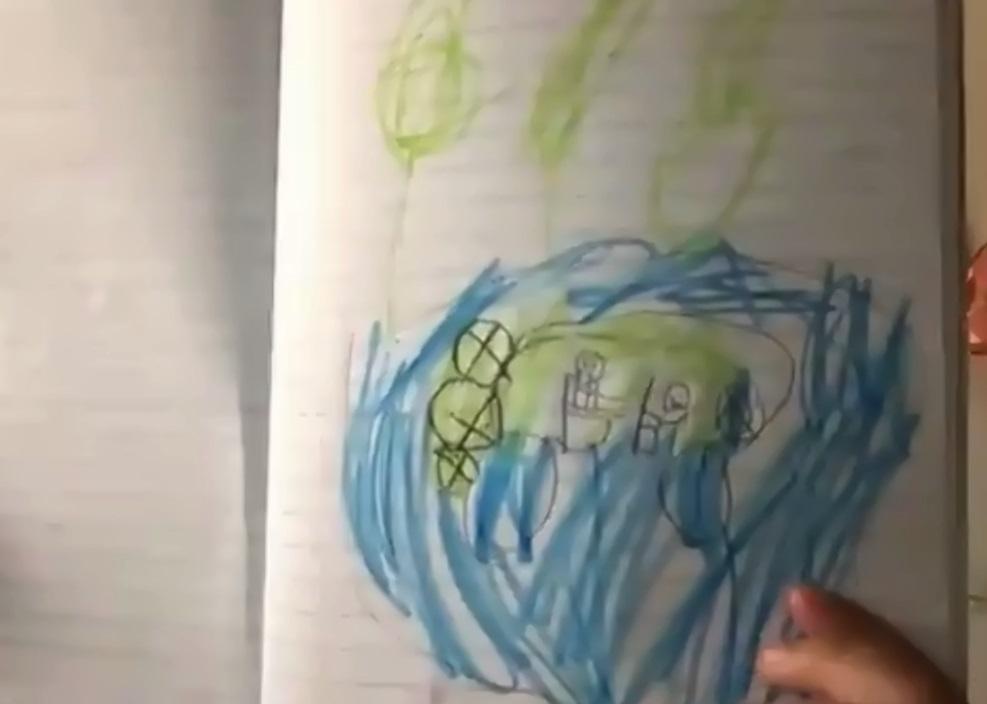 A MacArthur Park 3rd grader's drawing