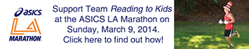 Team Reading to Kids 2014 ASICS LA Marathon