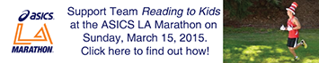 Team Reading to Kids 2015 ASICS LA Marathon