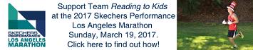 Team Reading to Kids 2016 Skechers Performance LA Marathon