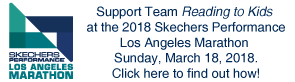 Support Team Reading to Kids at the 2018 LA Marathon!