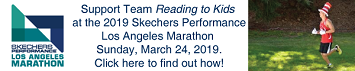 Team Reading to Kids 2019 Skechers Performance LA Marathon