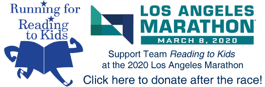 Team Reading to Kids 2020 LA Marathon