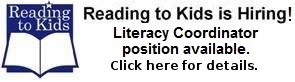 Reading to Kids is Hiring
